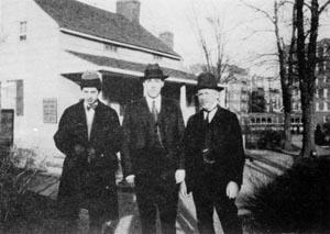 Frank Belknap Long, H. P. Lovecraft och James F. Morton
