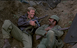 Fred Williamson och Bo Svenson, inglourious Bastards